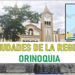 Principales ciudades de la Región Orinoquia