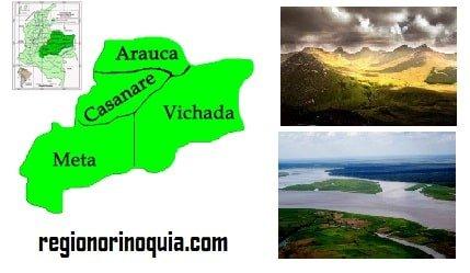 Region Orinoquia Localizacion – Limites - Relieve - Aspecto climatico