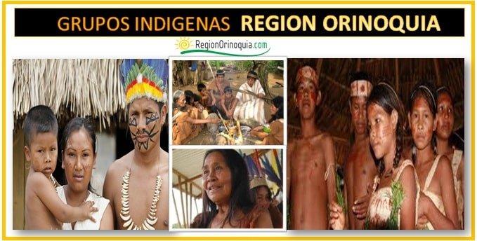 Comunidades indigenas de la region Orinoquia
