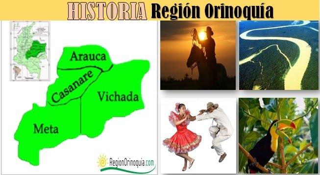 Historia de la region Orinoquia de Colombia