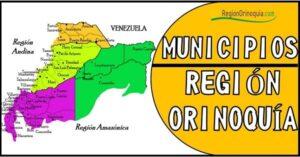 cuantos municipios tiene la region orinoquia