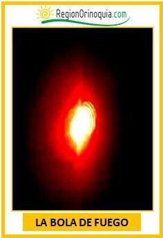 La bola de fuego