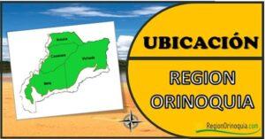 ubicacion region orinoquia