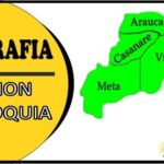 Geografia de la region Orinoquia de Colombia