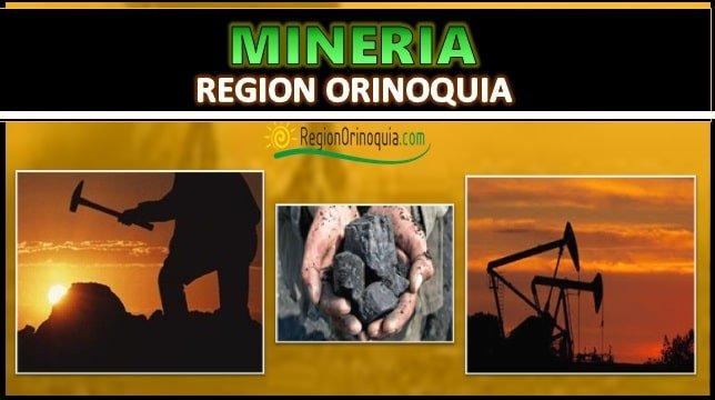 Minera region Orinoquia
