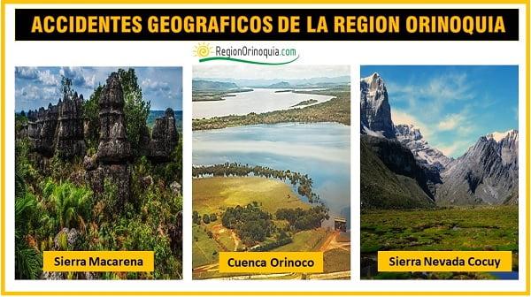 geografia de la region orinoquia