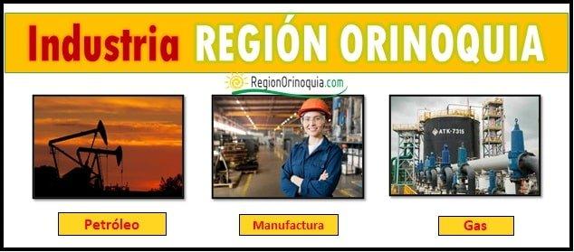Sector industrial en la region Orinoquia colombiana